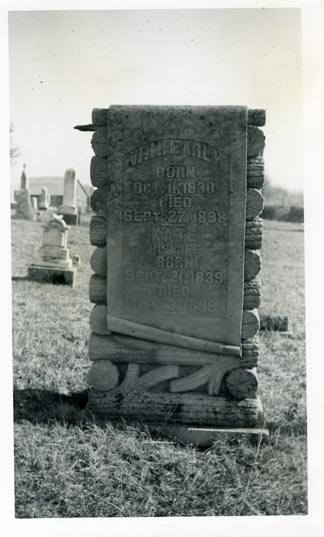 Tombstone of W. M. Early