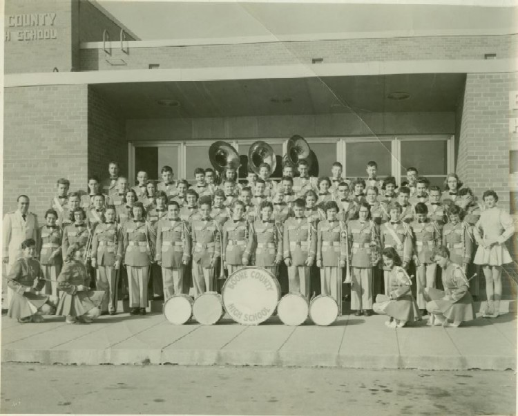 Boone County High School Band, 1958-1959