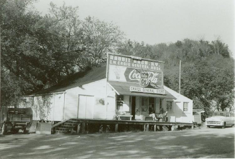Craig's General Store in Rabbit Hash, Kentucky