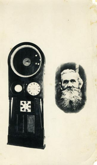 Thomas Zane Roberts and his celestial clock