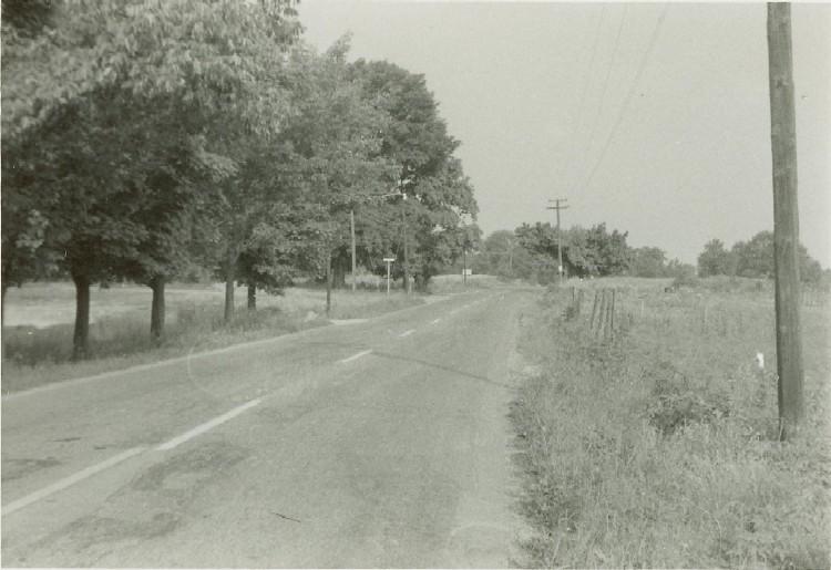 Burlington Pike and Tanner's Lane, June 1869
