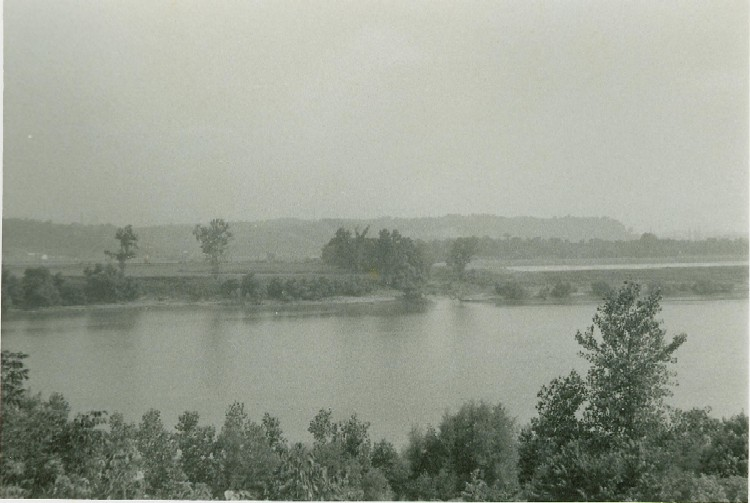 Tanner's Creek on the Ohio River, near Petersburg, June 1959