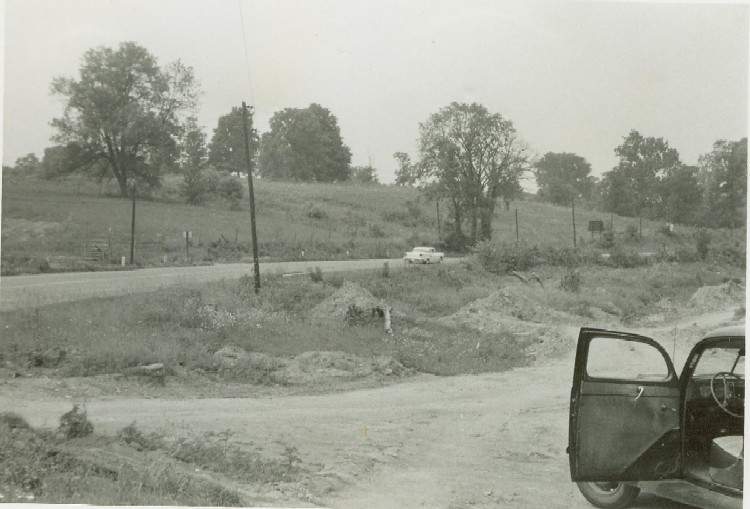 Route 42 in Florence June 1959