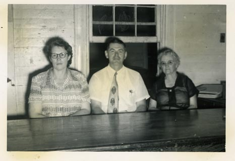 Mary Rector, John Crigler, unidentified woman
