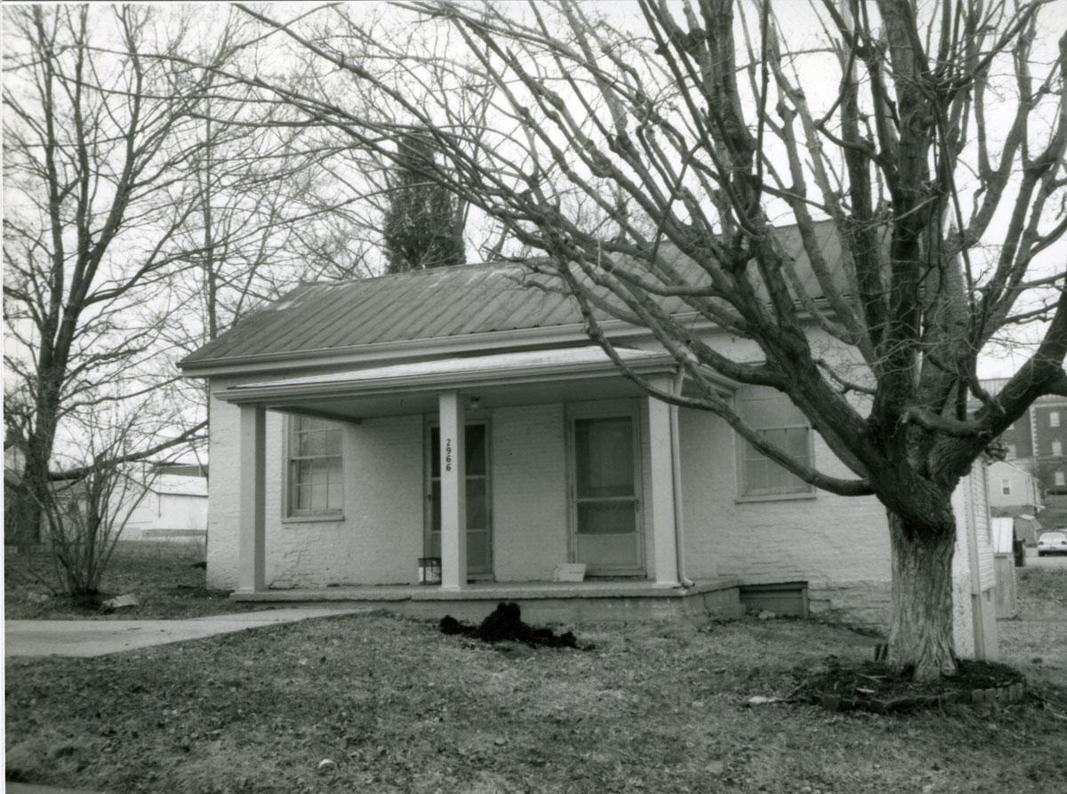 Cowan-Riddell house, exterior view