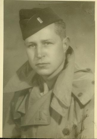 Harold Houston in the Army