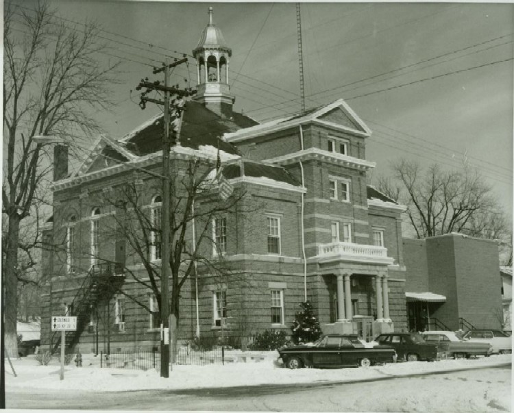 Courthouse in February