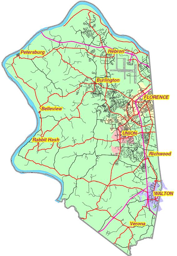 Boone County GIS Map