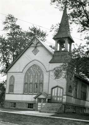 Burlington Baptist Church, circa 1942