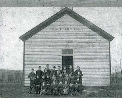 Pleasant Ridge school near Hopeful Heights