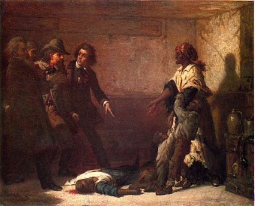 Margaret Garner Escape Attempt
