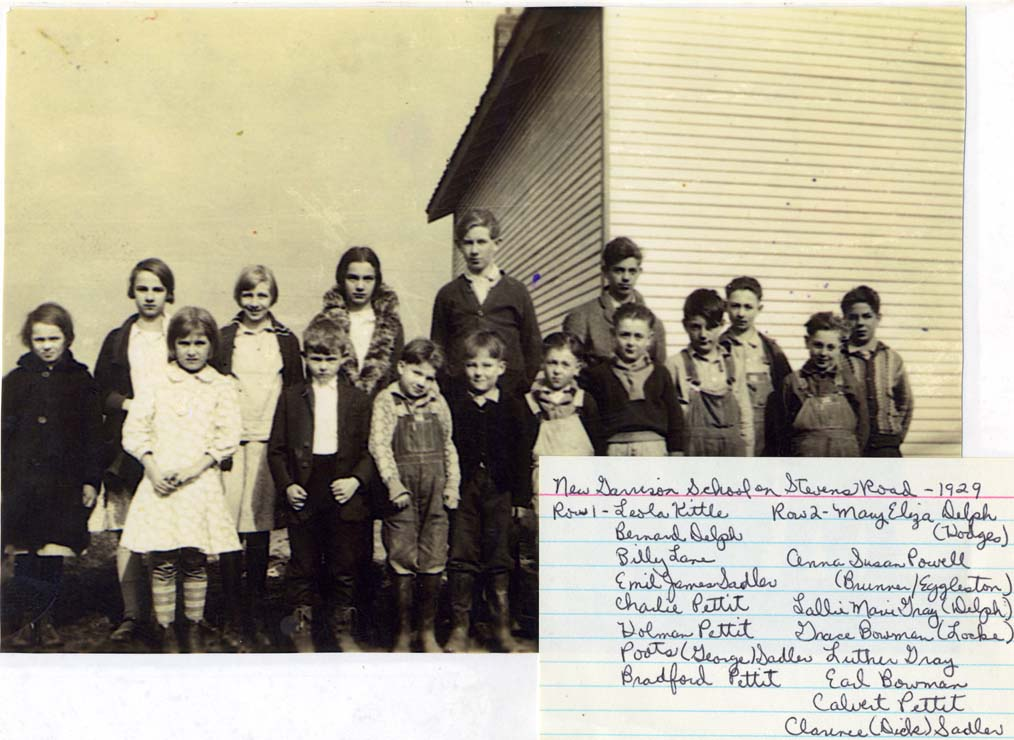 Garrison Creek School, 1929
