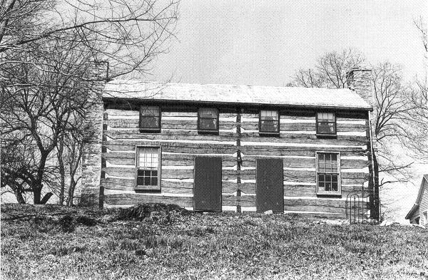 The Jonas Clore Log House