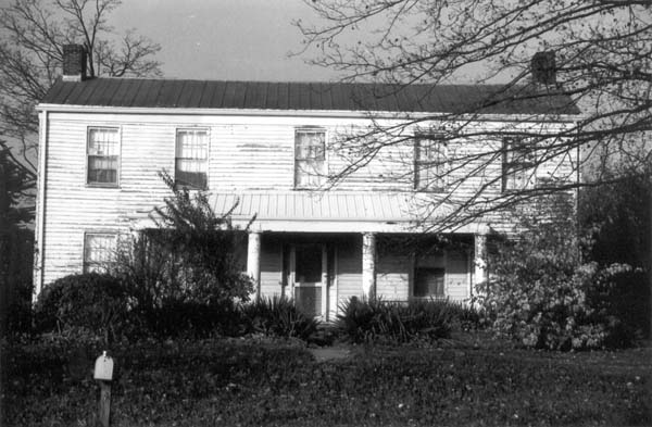 James Blackburn House