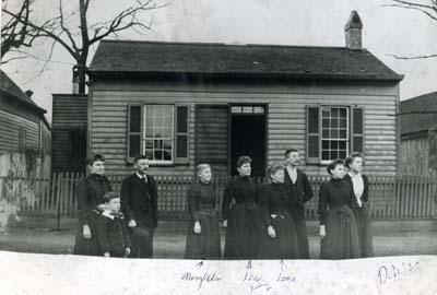 Mrs. Delph's house