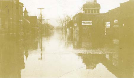 1937 flood, Terrace Avenue