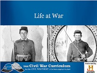 Life at War PowerPoint