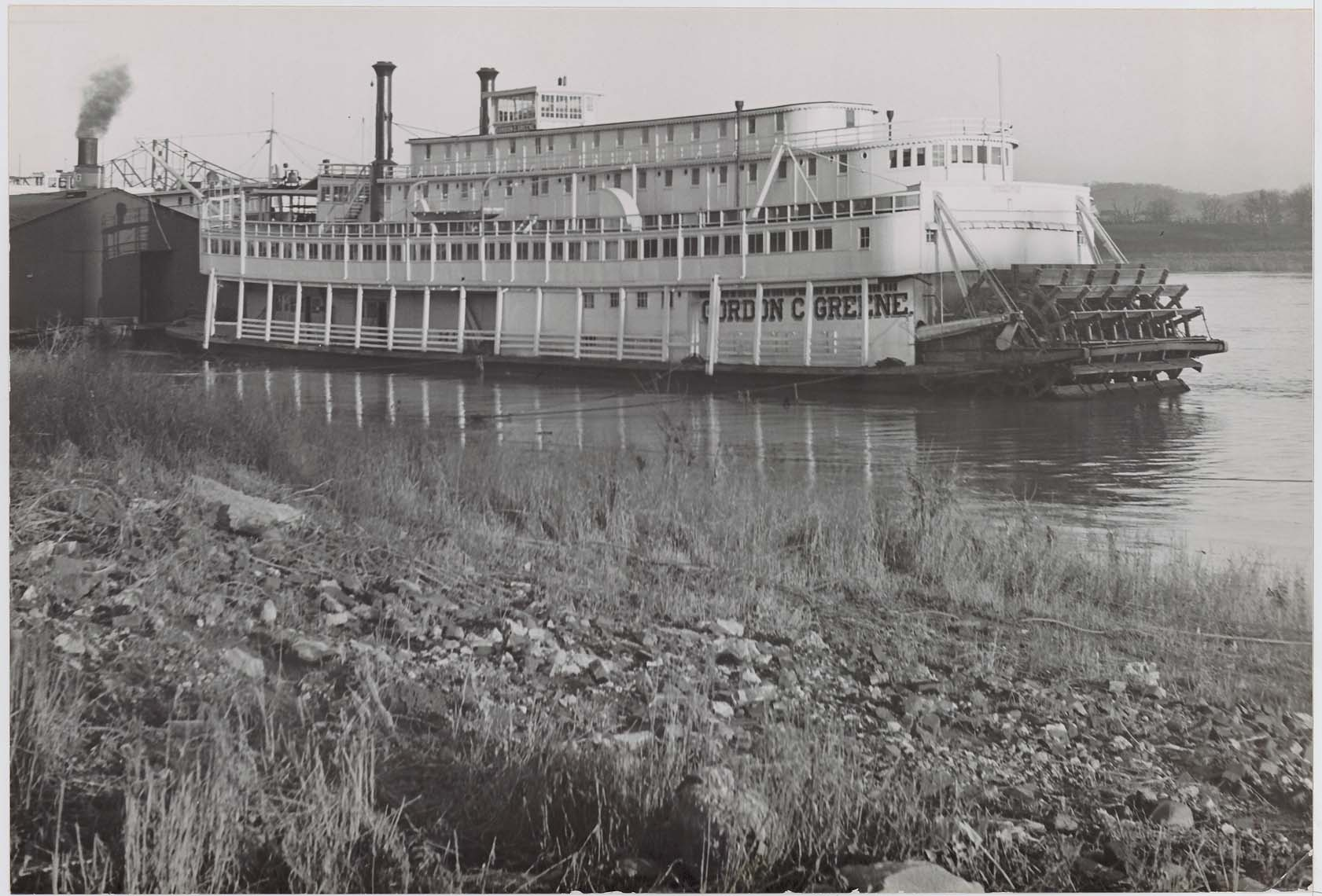 Sternwheeler Gordon C. Greene, February 1950
