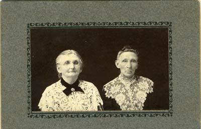 Unidentified portrait of elderly women