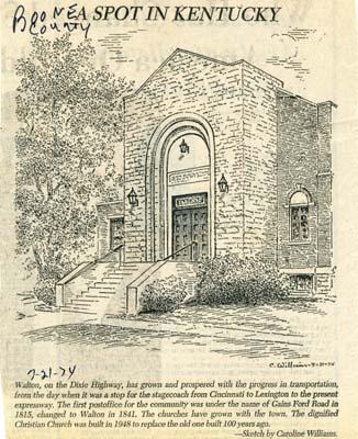 Walton Christian Church