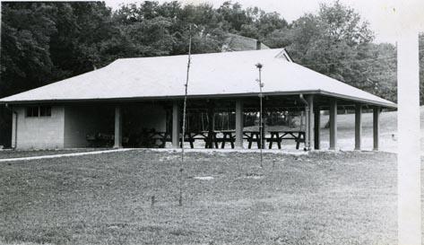 Shelter house at Big Bone Lick State Park