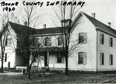Boone County Infirmary, 1920