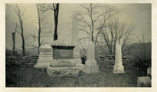 General view, Moore Cemetery