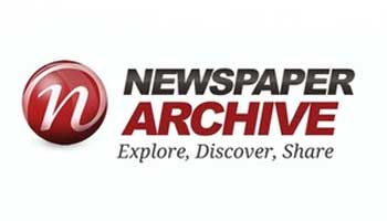 Button: Newspaper Archive